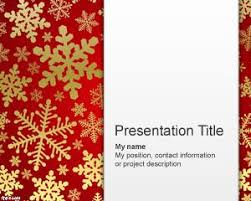 40 best christmas powerpoint template images on pinterest plants