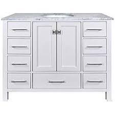 48 Single Sink Bathroom Vanity by Single Sink Bathroom Vanities Cabinets And Storage Lamps Plus