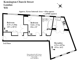 2 bedroom property to rent in kensington church street kensington