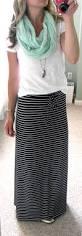 michael kors navy blue and white stripe maxi skirt f21 white slub