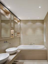 awesome lighting for small bathrooms on home interior redesign