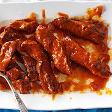 sweet and savory ribs recipe taste of home
