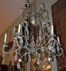 Rock Crystal Chandeliers Silverleaf Iron And Rock Crystal Chandelier Chandeliers Iron