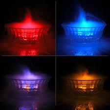 indoor fountain with light buy 12 led mist maker fog machine water fogger fountain pond light