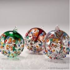 italian decorations murano glass ornament