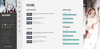 Online Resume Site by Profiler Vcard Resume Joomla Template By Templaza Themeforest