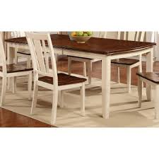 white cherry dining table dover collection rc willey
