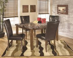 Dining Room Tables For 4 Rectangular Dining Room Table 4 Uph Side Chairs D328 01