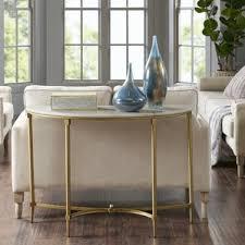 Living Room Console Table Gold Console U0026 Sofa Tables You U0027ll Love Wayfair