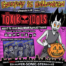 every day is halloween the toxik idols rock n roll zombie superstars photo gallery