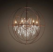 Orb Ceiling Light Wine Sphere Chandelier Clear Rustic Chandelier Wine Barrel Ring