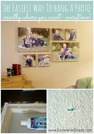 how to hang a picture perfectly every time simple tip by