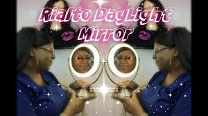 Rialto Mirrors Lighted by Rialto Daylight Mirror Unboxing Youtube