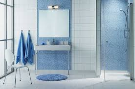 Blue Bathroom Tiles Zampco - Blue bathroom design