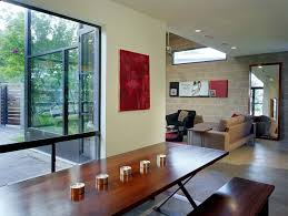 how to decorate cinder block walls dining room industrial with