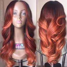 dyed weave hairstyles colored weave and or wig autumn haor color wig or weave