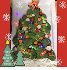 happily disney festive light up veggie tree