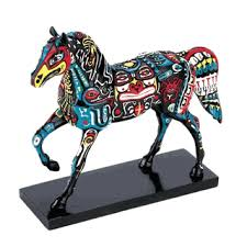 trail of collectible painted ponies