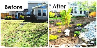 image of simple and cheap low budget landscaping ideas pictures