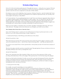 Reflective Writing Sample Essay Winning Scholarship Essays Examples 6 Order Custom Essay Online