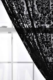 Black Lace Valance Curtains Stunning Victorian Lace Curtains Bird Unforeseen