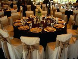 traditional wedding table decorations rustic outdoor wedding fall