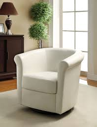 Small Swivel Chairs For Living Room Chair The Mesmerizing White Swivel Chairs For Living Room With