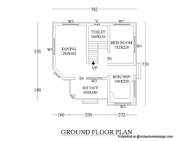 Beautiful Floor Plans Small But Beautiful House Design 550 Sqft 1bhk House Floor Plan