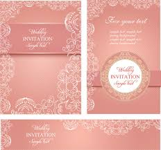 remarkable wedding invitation card design template free download