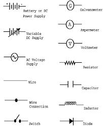 symbols glamorous electrical wire diagram symbols schematic