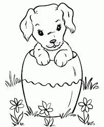 dog coloring pages for toddlers pictures to colour for kids free printable dog coloring pages for