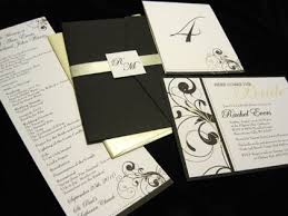 wedding invitation packages navy blue and silver wedding invitations creative insights