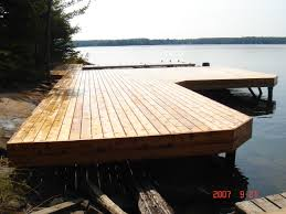 docks du bureau steel pile permanent docks r j machine