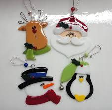 figuras navideñas vitrofusión para navidad glass