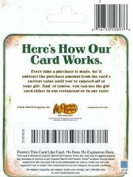cracker barrel gift card best 25 cracker barrel locations ideas on longhorn