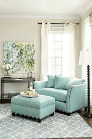 White Armchair With Ottoman Accent Chair With Ottoman Best Placement Ideas