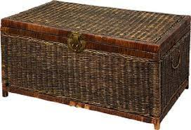 Wicker Trunk Coffee Table Wicker Trunk Coffee Table Accompany Your Free Time For The Home