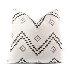 peter dunham textiles taj pillow cover onyx ash linen