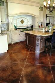 Best Tile For Basement Concrete Floor by Concrete Floor Design Ideas Paint To Look Like Tile Funky Painted