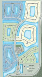 the siteplan for stonecreek in naples florida