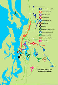 seattle map by county top 12 bike trails in snohomish and king county outdoorsnw magazine