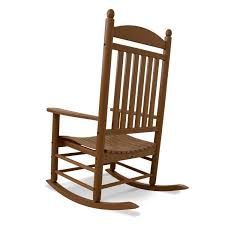Outdoor Rocking Chairs For Heavy Polywood Jefferson Recycled Plastic Wood Patio Rocking Chair