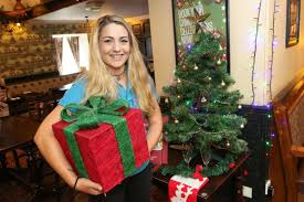 100 christmas inverness restaurant puts up christmas tree
