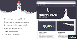 templates blogger material design calypso material design wordpress theme by bluthemes themeforest