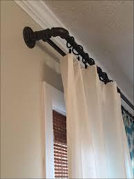 living room wonderful diy wrap around curtain rods wrap around
