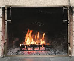 Custom Size Fireplace Screens by Fire Screens Hans Duus Blacksmith Inc