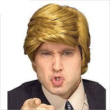 donald trump halloween costume party city popular trump hair buy cheap trump hair lots from china trump hair