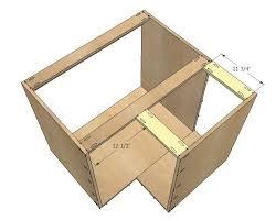 how to make a corner base cabinet 36 corner base easy reach kitchen cabinet basic model