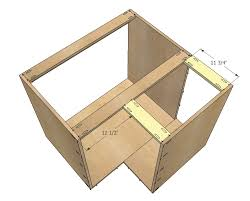 kitchen base cabinet plans free 36 corner base easy reach kitchen cabinet basic model