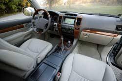 Lexus Gx470 Interior Technofile Drives The Lexus Gx470